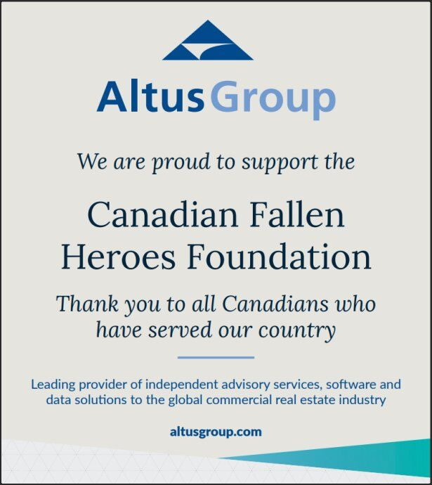 Canadian Fallen Heroes - IN MEMORIAM