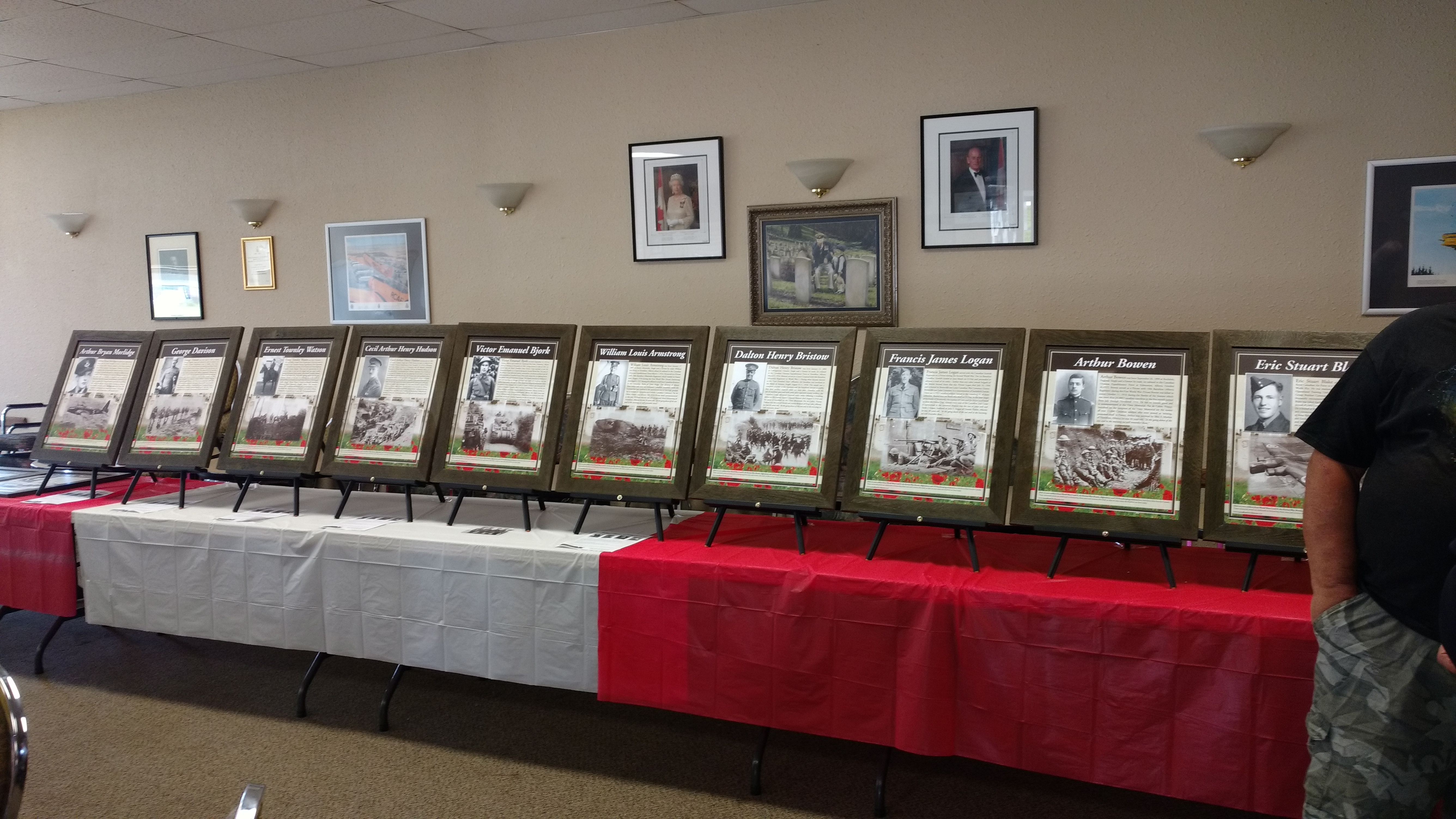 Remembrance In Action: Portrait Unveiling at the Royal Canadian Legion Branch No. 11